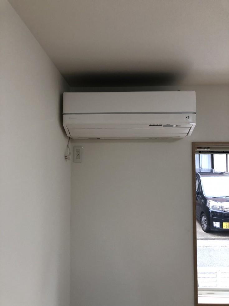 N様邸エアコン取り付け工事